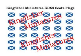 Scottish Flags for UK Armed Forces Vehicles